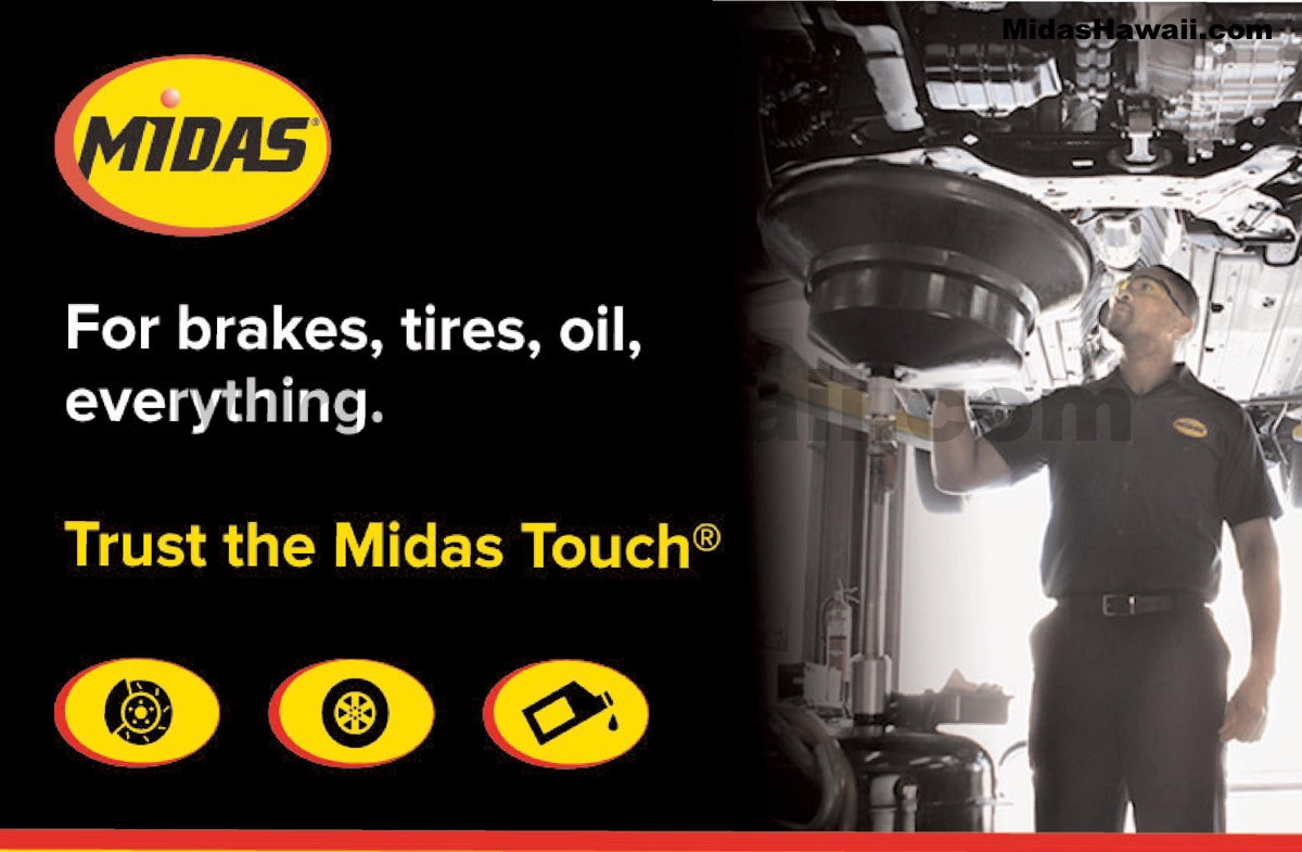 Tune Up Coupons >> Midas Hawaii Auto Repair and Service Menu Board - Midas ...