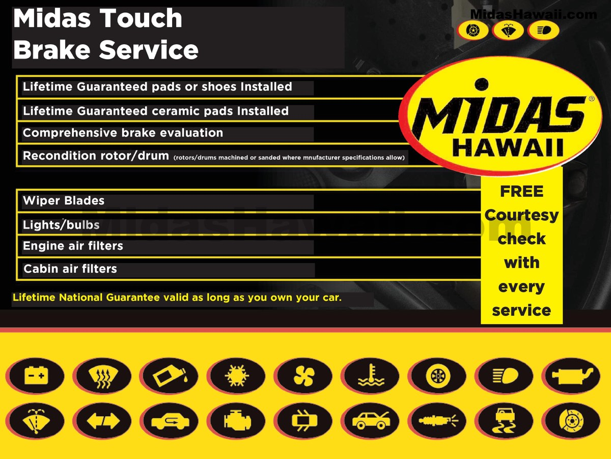 Trust the Midas Touch®.