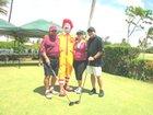 Team Midas, Bob & Dianne Pereira, Mark Ogata with Ronald McDonald himself!